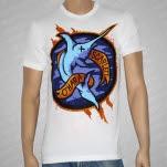 Scarlett OHara Swordfish White T-Shirt