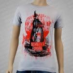 Scarlett OHara Woman Silver T-Shirt