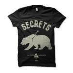 SECRETS Bear Black T-Shirt