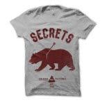 SECRETS Bear Heather Grey T-Shirt