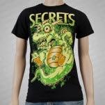 SECRETS Dragon Black T-Shirt