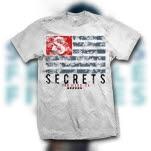 SECRETS Flag White T-Shirt