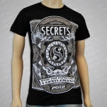 SECRETS Gentleman Black T-Shirt