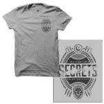 SECRETS Mirror Heather Grey T-Shirt