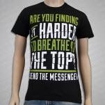 Send The Messenger Hard To Breathe Black T-Shirt