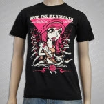 Send The Messenger Messenger Girl Black T-Shirt
