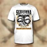 Serianna Snake White T-Shirt