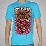 Serianna Wart Hog Light Blue T-Shirt