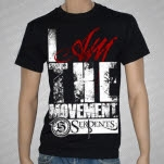 Serpents Movement Black T-Shirt