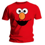 Sesame Street Elmos Face Red T-Shirt