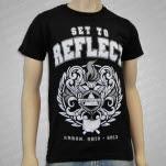 Set To Reflect New Path Black T-Shirt
