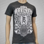 Set To Reflect Wreath Dark Heather T-Shirt