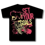 Set Your Goals Animal Bites Black T-Shirt