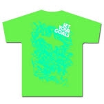 Set Your Goals Dobi Shark Green T-Shirt