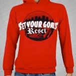 Set Your Goals Reset RED Pullover
