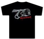 Sevendust Sevendust 7D Logo Black T-Shirt