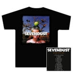 Sevendust Animosity Cover Black T-Shirt