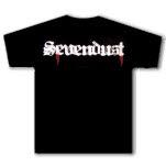 Sevendust Sevendust Blood Logo Black T-Shirt