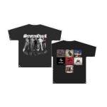 Sevendust Multi Album Black T-Shirt