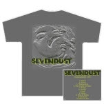 Sevendust Self Titled Album Gray T-Shirt