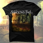 Shadows Fall Fire From The Sky Black T-Shirt