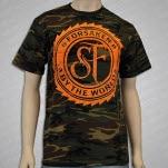 Shadows Fall Forsaken Camo T-Shirt