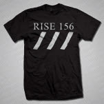 official Sharks Rise 156 Black T-Shirt