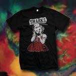 Sharks Hang Up Black T-Shirt