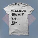 Sharks Scream White T-Shirt