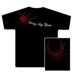 Shiny Toy Guns Spider Black T-Shirt