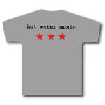 Shirts For A Cure Hot Water Music Stars 2 T-Shirt