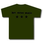Shirts For A Cure Stars Army Green T-Shirt