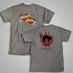 Shirts For A Cure Tattoo Gray T-Shirt