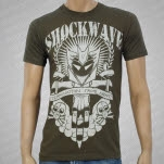 Shockwave Termination Army Green T-Shirt