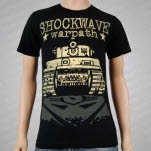 Shockwave War Path Black T-Shirt