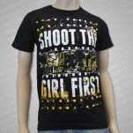 Shoot The Girl First Film Black T-Shirt
