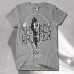 Shreddy Krueger Standing Heather Grey T-Shirt