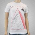Sights  Sounds Eye White T-Shirt