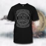 Silence The Messenger Sword Black T-Shirt