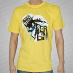 Silverstein Art Yellow T-Shirt