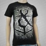 Sirens  Sailors Skeletons Album Art Black T-Shirt