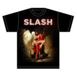 Slash Angel with Logo T-Shirt