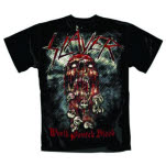 Slayer World Painted Blood Skull T-Shirt