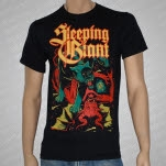 Sleeping Giant Tiger And Demon Black T-Shirt