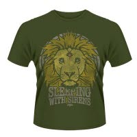 Sleeping With Sirens Lion Crest T-Shirt