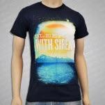 Sleeping With Sirens Beach Navy T-Shirt