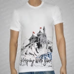 Sleeping With Sirens Castle White T-Shirt