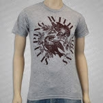 Sleeping With Sirens For The Birds Heather Grey T-Shirt