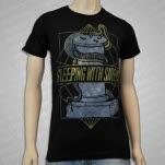 Sleeping With Sirens Geometric Snake Black T-Shirt