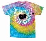 Sleeping With Sirens Guitar Tie Dye Saturn T-Shirt